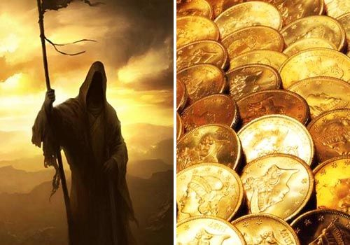 oracion a la santa muerte dorada
