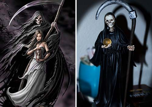 oracion a la santa muerte negra