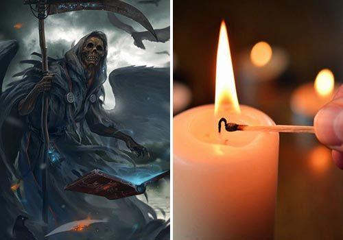 oracion a la santa muerte para proteccion