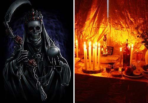 oracion a la santa muerte para que regrese el ser amado
