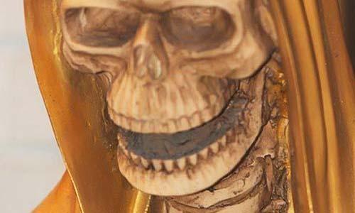 santa muerte dorada 2018