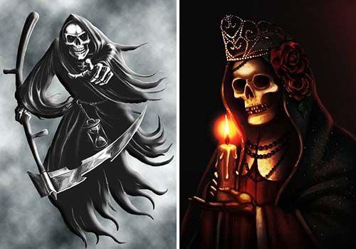 santa muerte imágen