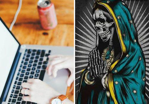 poderosa oracion a la santa muerte para el trabajo