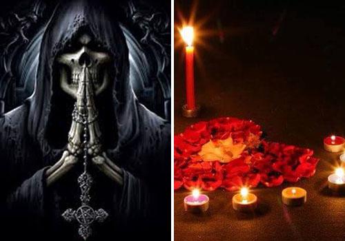 oracion a la santa muerte para que piense en mi