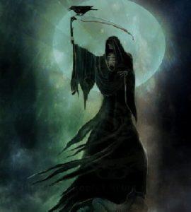 Significado de soñar con la santa muerte negra