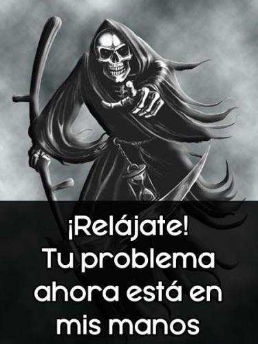 imagenes de santa muerte con frases