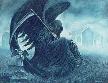 santisima muerte alas